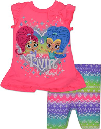 Toddler Girls Shimmer Shine Shorts product image