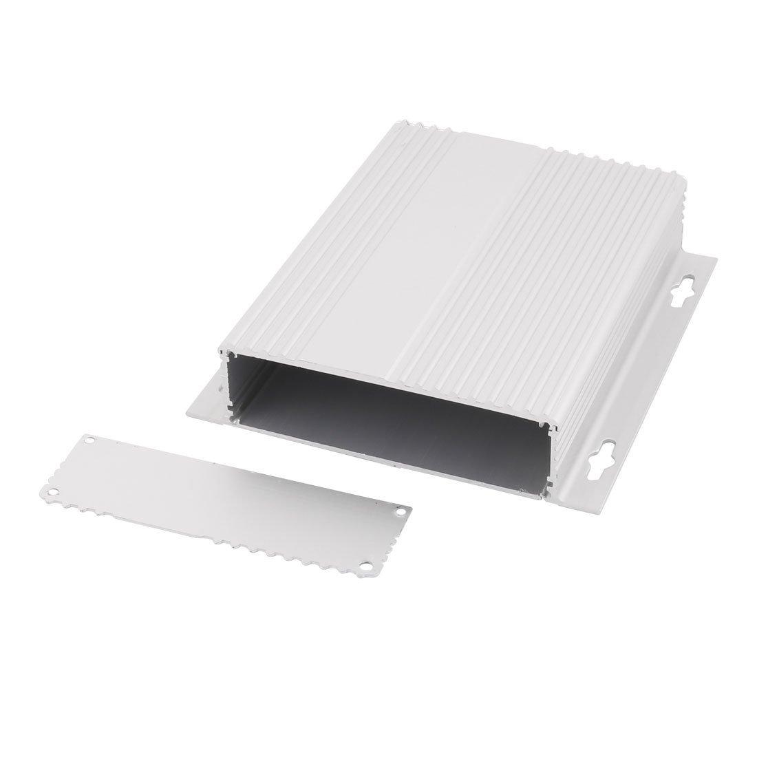 Amazon.com: eDealMax 36 x 147 x 155 mm multiusos de aluminio extruido carcasa de la caja de Plata del tono: Electronics