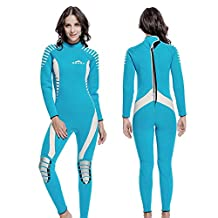 3MM rubber warm cold wetsuit women winter long sleeve one-piece bathing suits men neoprene dive suit