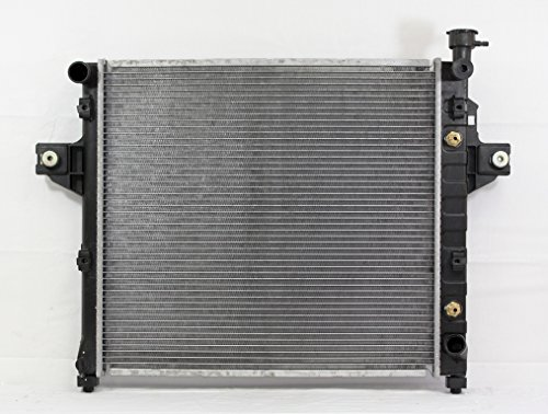 - Radiator - Pacific Best Inc For/Fit 2263 99-00 Jeep Grand Cherokee 8 Cylinder 4.7L