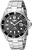 Watches : Invicta Men's Pro Diver Quartz Watch with Stainless Steel Strap, Silver, 22 (Model: 30018)