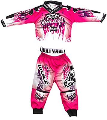 Wulfsport Toddler Firestorm Race Suit hasta 2 Yr MX Motocross ATV ...