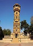 DollsofIndia Kirti Stambh, Hutheesing Jain Temple, Ahmedabad - Gujarat, india - Photographic Print - 22 x 16 inches - Unframed