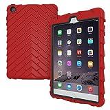 ipad mini gumdrop case - Apple iPad mini iPad mini Retina iPad mini 3 Drop Tech Red Gumdrop Cases Silicone Rugged Shock Absorbing Protective Dual Layer Cover Case