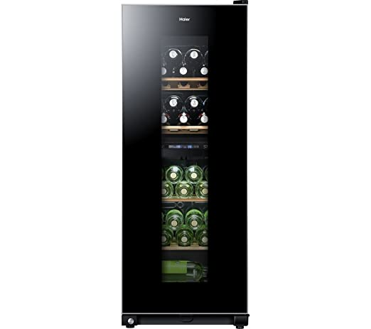 Haier WS46GDBE Independiente Nevera de vino Negro 46bottle(s) B ...
