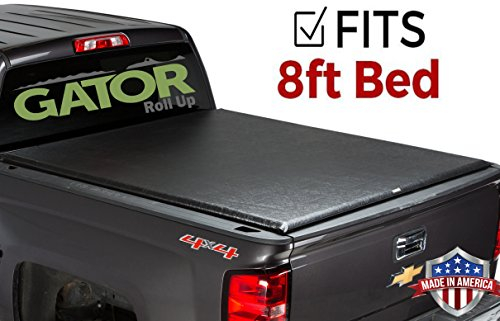 Gator ETX Soft Roll Up Truck Bed Tonneau Cover | 53105 | fits 99-07 GM Silverado/Sierra, 8 Bed | Made in the USA