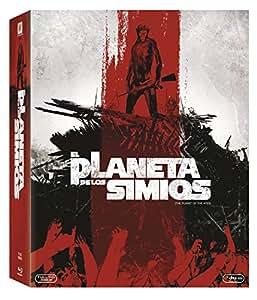 El Planeta De Los Simios - La Saga Completa [Blu-ray