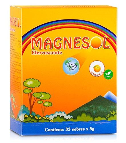 Magnesol Naranja, 33 Count Magnesium 5g Orange