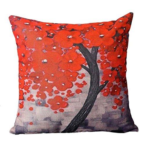 LUNIWEI Pillow Case Home Decor Bed Sofa Cushion Cover(No Pillow Insert)