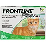 Frontline Plus Flea and Tick Treatment for Dogs 8 Month Supply (CAT)