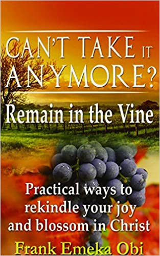 Book Can't Take It Anymore? Remain in the Vine