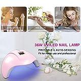 Nail Lamp, Nail Dryer, 36W Nail Curing Lamp UV