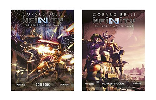 Infinity RPG Bundle: Core Rulebook + Player?s Guide