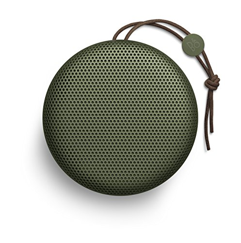 B&O PLAY by Bang & Olufsen Beoplay A1 Portable Bluetooth Speaker with Microphone (Moss Green)