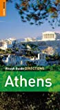 Front cover for the book Athens Directions by John Fisher
