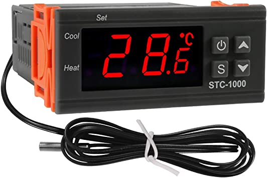 STC-1000 Digital Temperature Controller Temp Sensor Thermostat 110V-220V NU