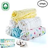 Baby Muslin Washcloths, Face Towel, Baby Wipes, Natural...