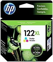 HP CH564HL Cartucho de Tinta No. 122 XL, tricolor