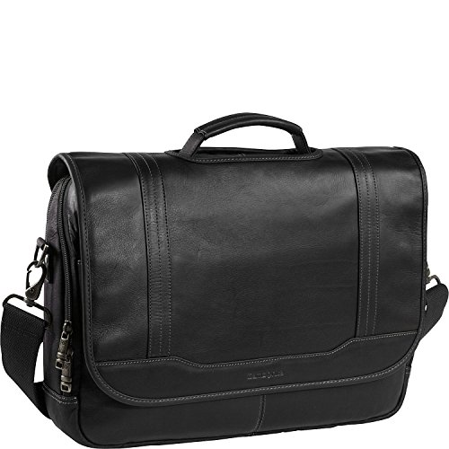 (Samsonite Durham Colombian Leather Briefcases Black)
