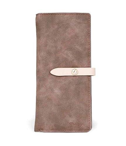 0b4478efcf9e Amazon | [AMgrocery] 長財布 (薄型 軽量) レディース [小銭入れが大きく ...