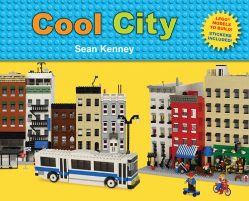 Cool City: LegoTM Models to Build - Stickers Included -
