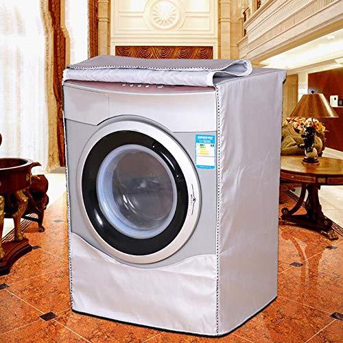 Copertura lavatrice Per Front Load Lavatrice e casa solare lavanderia Dryer Custodia a prova di polvere protettiva impermeabile Dust forHome giacca o uso ufficio
