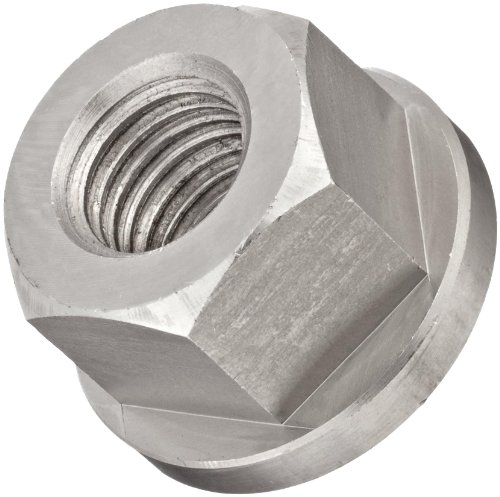 TE-CO 303 Stainless Steel Hex Nut, Plain Finish, Right Ha...