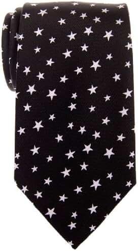 Retreez Classic Stars Woven Microfiber Men's Tie Necktie - Various Colors