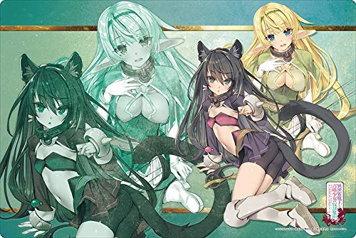 How NOT to Summon a Demon Lord Shera & Rem Card Game Character Rubber Play Mat Collection Vol.217 Anime Art