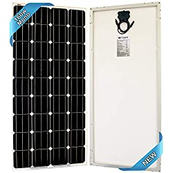 SEC 160 Watt Monocrystalline 160W 12V Solar Panel High Efficiency Mono Module RV Marine Boat Off Grid