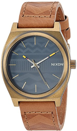 Nixon Men's 'Time Teller' Quartz Stainless Steel Casual Watch, Color Brown (Model: A0452731) by NIXON
