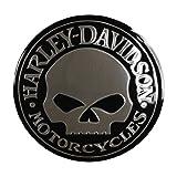 Harley Davidson Willie G. Skull Decal