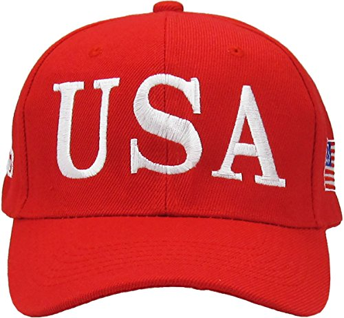 Make America Great Again – Donald Trump 2016 Campaign Cap Hat (011) Red