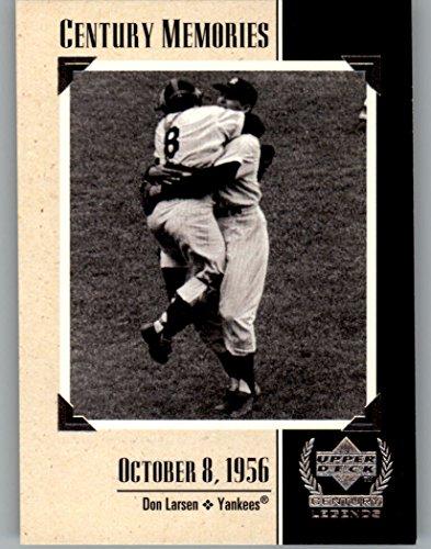 1999 Upper Deck Century Legends #131 Don Larsen MEM MLB Baseball Trading Card from Upper Deck