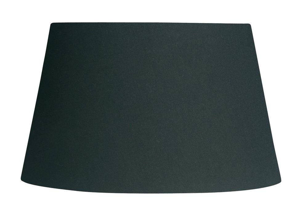 50,5 cm Oaks Lighting Lampenschirm aus Baumwolle konisch schwarz