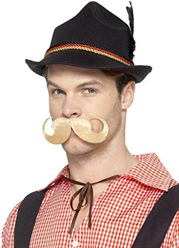 Smiffy's Deluxe German Trenker Hat, Black