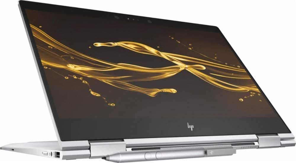 "HP Spectre X360 13.3"" FHD IPS 2-in-1 Touchscreen Laptop 2019 Flagship, Intel Quad-Core i7-8550U 8GB DDR4 256GB PCIe NMVe SSD Thunderbolt Backlit Keyboard Win Ink Stylus Pen Fingerprint Reader Win 10"