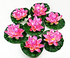 Pink lotus flower meanings and symbolisms 7pcs artificial floating foam lotus flower mightylinksfo