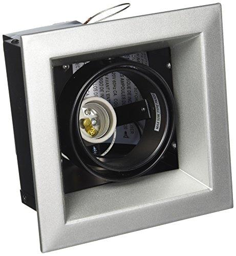 Eurofase TE161-0N 1-Light PAR20 Recessed Mutiple Square Trim, Platinum Eurofase Platinum Trim