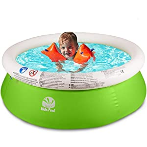 SIMREX Round Above Ground Easy Set Swimming Kids Pool