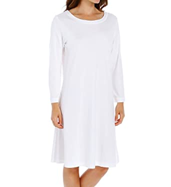 P-Jamas Butterknit Long Sleeve Gown (376660) at Amazon Women s ... 38482606f