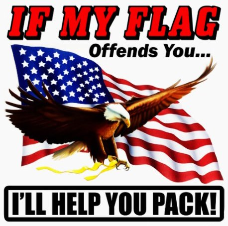 "Price comparison product image If my Flag Offends You I'll Help You Pack !!! 5"" Free Shipping from the United States"