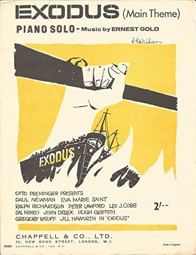 Exodus Sheet Music - 7
