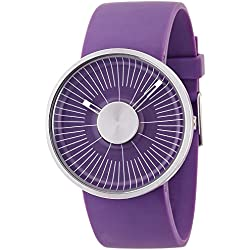 o.d.m watch Michael Young design HACKER analog display purple MY03-4 Men's [regular imported goods]