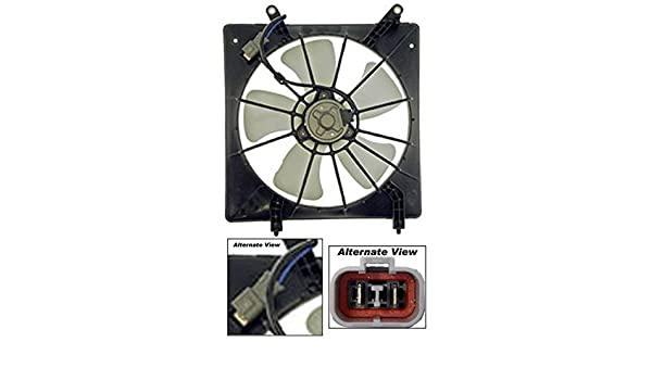 Amazon.com: APDTY 731338 Radiator Cooling Fan Blade Motor Shroud Assembly Fits 1998-2002 Honda Accord 2.3L Engine With Denso Fan (Replaces OE 19005-PAA-A01, ...