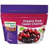 Earthbound Farm Organic Dark Sweet Cherries, 8 Ounce - 12 per case.