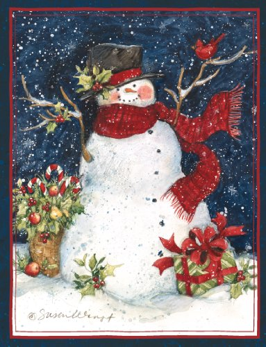 Boxed Christmas Cards Snowman - 6