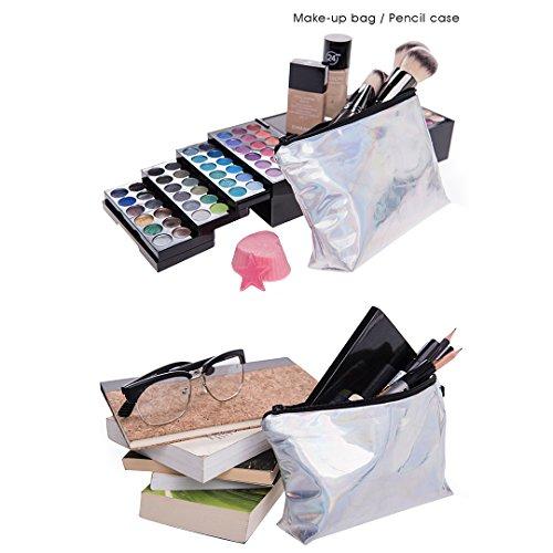 Laser Shiny Makeup Multi Laser Bag Bag Evening Wash for Hologram Women Bag Cosmetic Wedding Evening Bag Bag Purse mo Storage Party T4q41tR