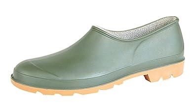 mens garden gardening shoe clog wellington size 6 12 waterproof 6 - Mens Garden Shoes