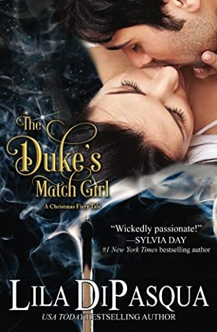book cover of The Dukes Match Girl